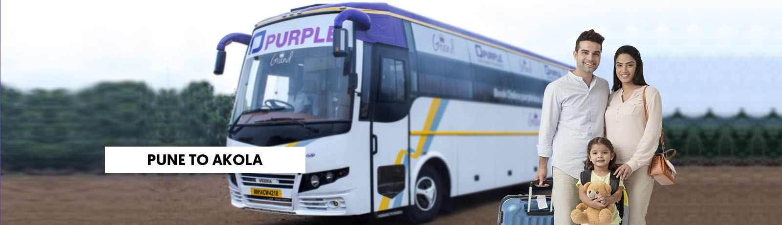 Pune To Akola bus Booking