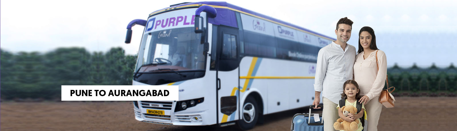 Pune To Aurangabad Bus Booking