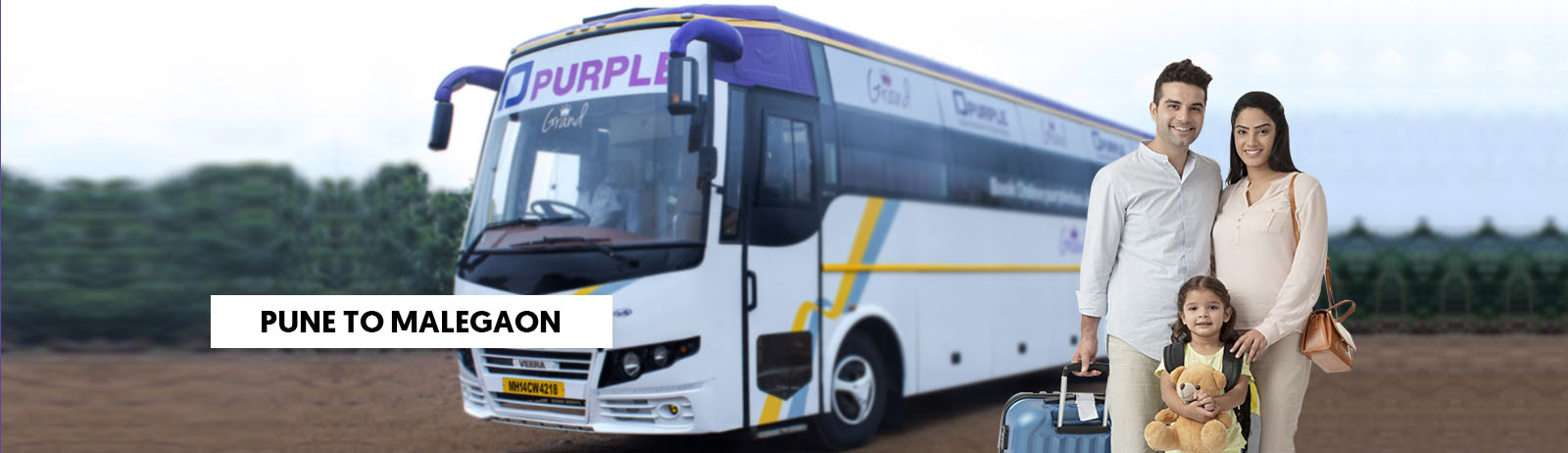 Pune To Malegaon Bus Booking