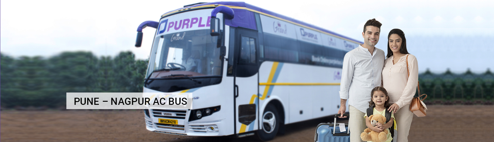 Pune To Nagpur Bus Booking