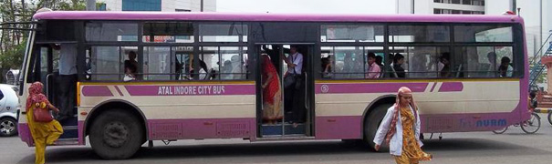 City Bus In Indore